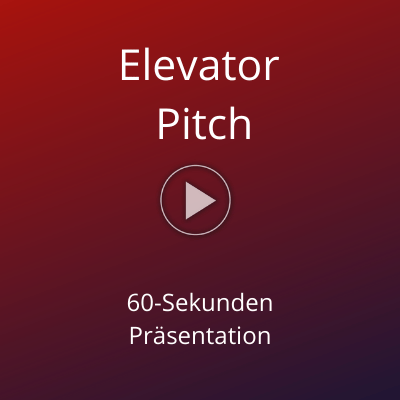 Elevator Pitch Marketing Claudia Schulte